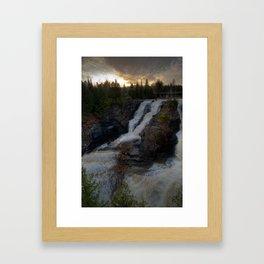 Kakabeka Falls Framed Art Print