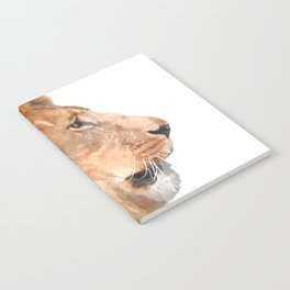 Lion Profile Notebook