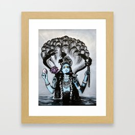Jai Sri Krishna Framed Art Print
