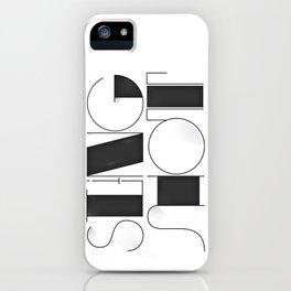 Sling Shot Lettering iPhone Case