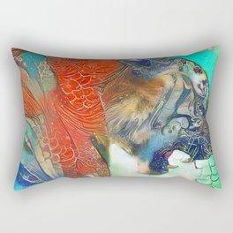Tiger's Realm Rectangular Pillow