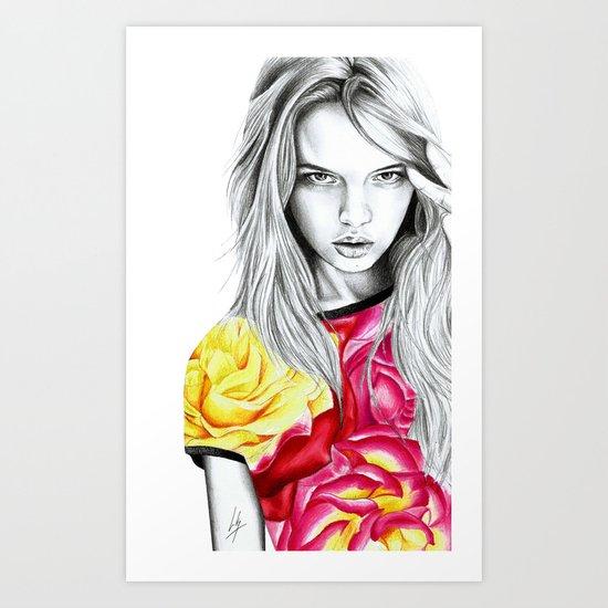 French Summer 1 Art Print