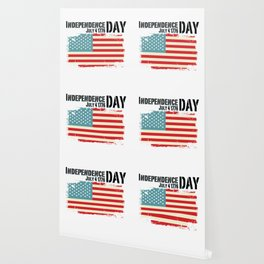 1776 4th of July Independence Day Gift Wallpaper