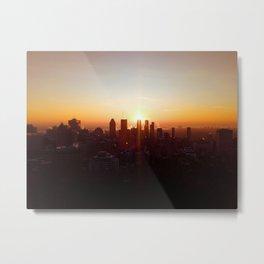 Sunrise in paradise - Montréal Metal Print