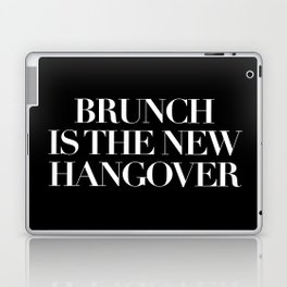 BRUNCH IS THE NEW HANGOVER - BLACK Laptop & iPad Skin