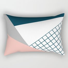 Colorful geometry 16 Rectangular Pillow
