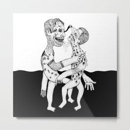 psychedelic people Metal Print