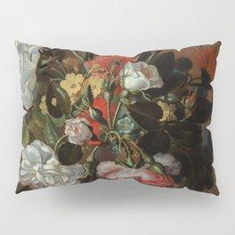 "Jacob Marrel ""Flowers in a glass vase"" Pillow Sham"