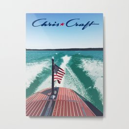 Chris Craft Boating Metal Print