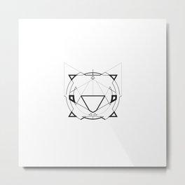 TriGram Metal Print