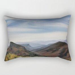 Hawksbill Mountain Rectangular Pillow