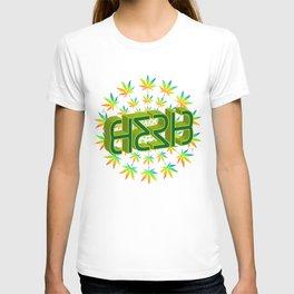 """HERB' (original invertible ambigram) T-shirt"