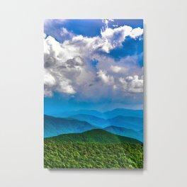 Blue Ridge Metal Print