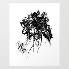 FlightMinded B&W Art Print