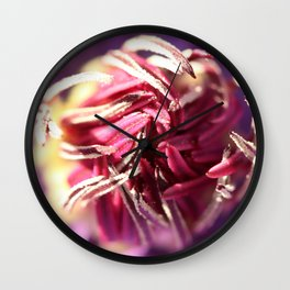 Blossoming Wall Clock