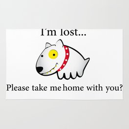 I'm lost....please take me home with you Rug