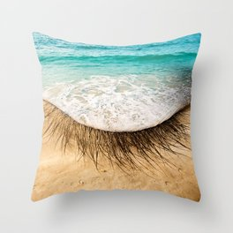 Eye sea you Throw Pillow
