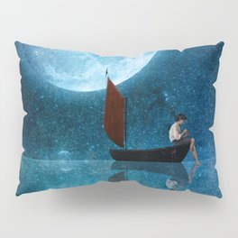 The Moon and Me Pillow Sham