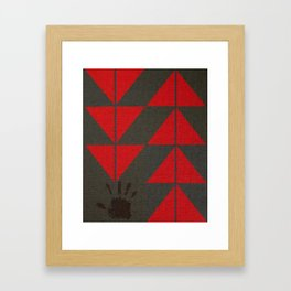 Indigenous Peoples in United States Framed Art Print