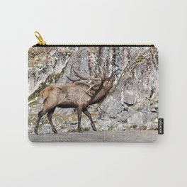 Wapiti Bugling (Bull Elk) Carry-All Pouch