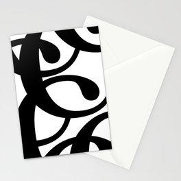 Hidden Letters. Baskerville C Stationery Cards