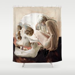Mental state Shower Curtain