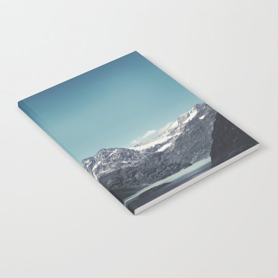 turquoise mountain lake Notebook