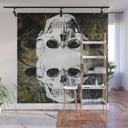 Skull Graffiti 1.0 Wall Mural