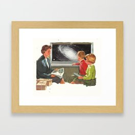 weefee gratis  Framed Art Print
