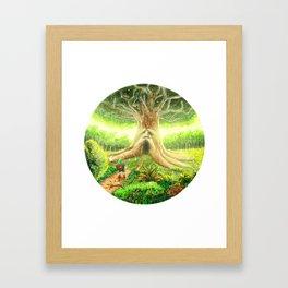 The Great Deku Tree - The Legend Of Zelda, Ocarina Of Time Framed Art Print