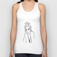 harry styles Tank Tops featuring Harry Styles by Rosalia Mendoza