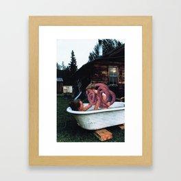 The Sausage King Of Chicago Framed Art Print