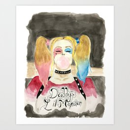 All the Best People are Crazy Art Print
