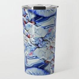Digital Floral Travel Mug