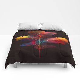 Rainbow Leaf Comforters