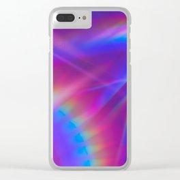 Babe Rainbow Clear iPhone Case