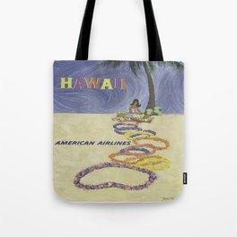 Vintage poster - Hawaii Tote Bag