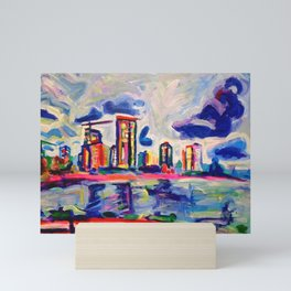 Westside Mini Art Print