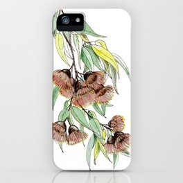 Flowering Red Gum iPhone Case