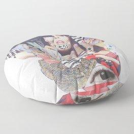 Musa Collage Floor Pillow