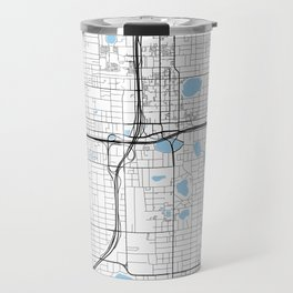 City of Orlando, Florida Travel Mug