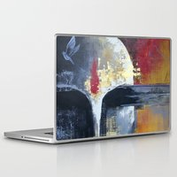 uncharted Laptop & iPad Skins featuring Glimpses from the Terabytical Depths of an Uncharted Mind by Rochana Dubey