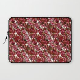 Red autumn flowers Laptop Sleeve