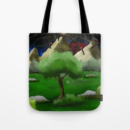 Coming Around the Mountain Tote Bag