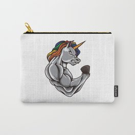 Unicorn At The Gym | Training Fitness Muscles Power Carry-All Pouch