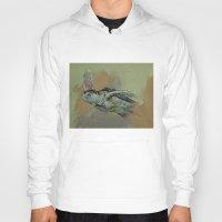 sea turtle Hoodies featuring Sea Turtle by Michael Creese