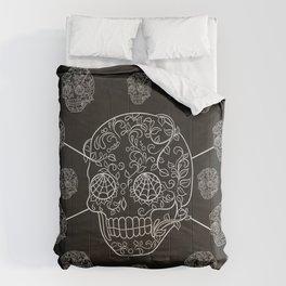 Skull Web Comforters