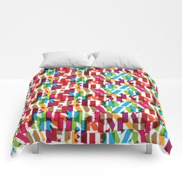 Letterform Fitting Comforters