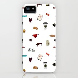 Pattern of Klaine things iPhone Case