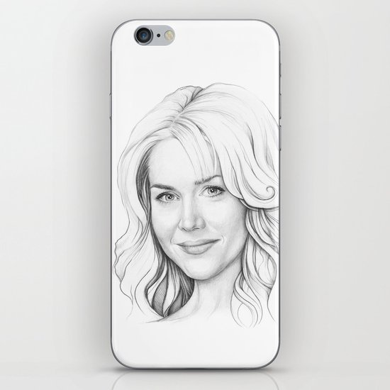 Rita Bennett (DEXTER) iPhone & iPod Skin